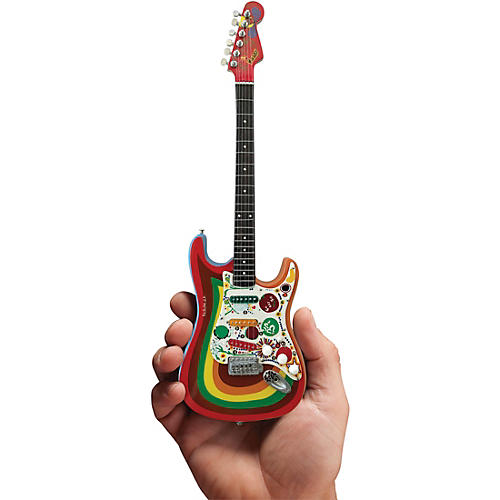 Axe Heaven Fende Stratocaste - Rocky - George Harrison Officially Licensed Miniature Guitar Replica thumbnail