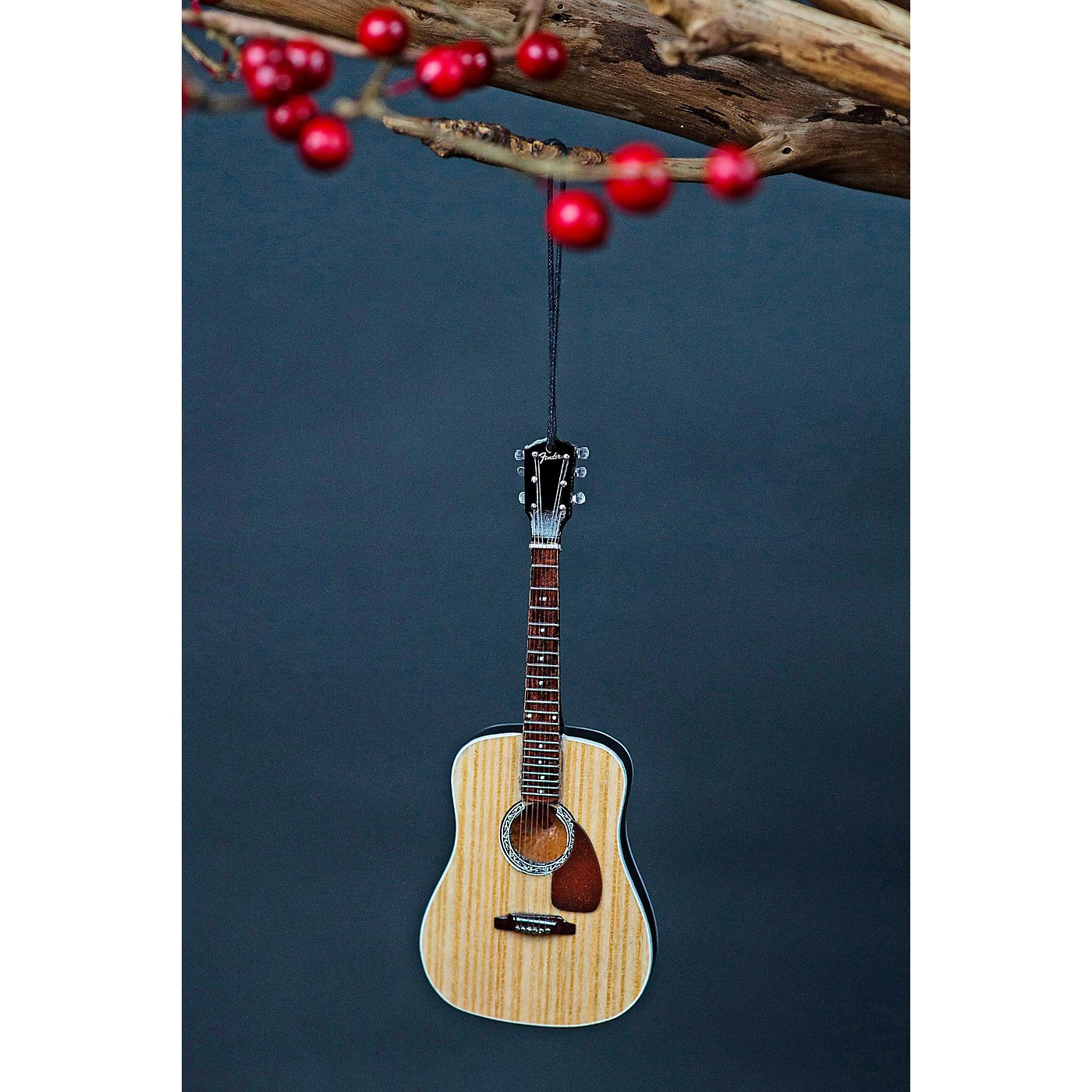 Axe Heaven Fender PD-1 Dreadnought Acoustic 6-Inch Holiday Ornament thumbnail
