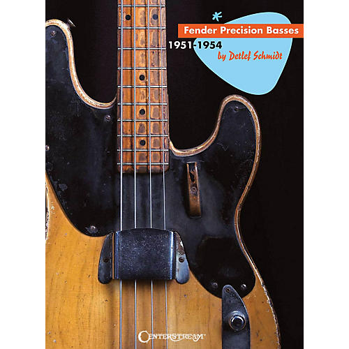 Centerstream Publishing Fender Precision Basses (1951-1954) Guitar Series Hardcover Written by Detlef Schmidt thumbnail