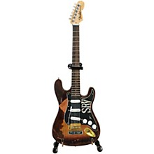 Axe Heaven Fender Stratocaster - Classic Sunburst Finish Officially Licensed Miniature Guitar Replica (SRV Edition)