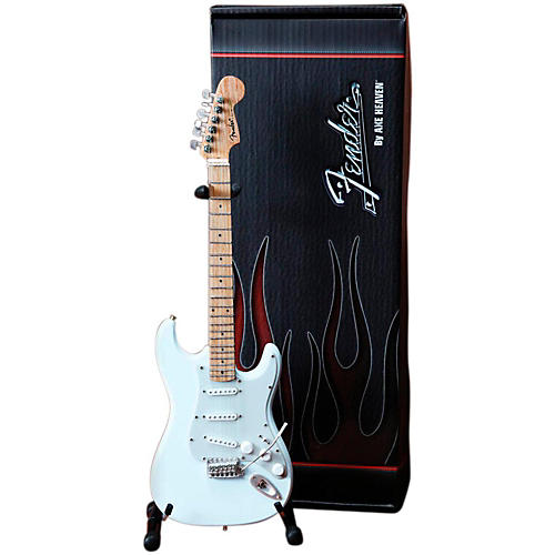 Axe Heaven Fender Stratocaster Olympic White Miniature Guitar Replica Collectible thumbnail