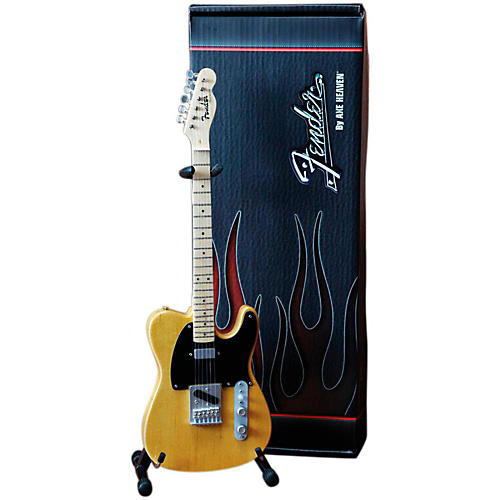 Axe Heaven Fender Telecaster Butterscotch Blonde Miniature Guitar Replica Collectible thumbnail