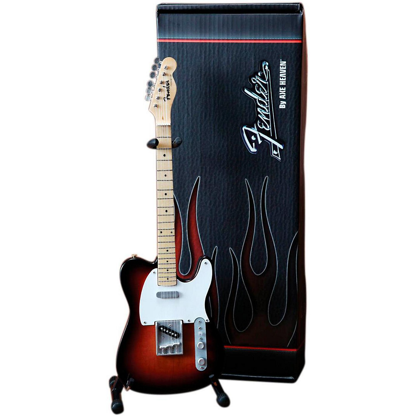 Axe Heaven Fender Telecaster Classic Sunburst Miniature Guitar Replica Collectible thumbnail