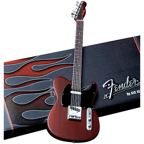 Axe Heaven Fender Telecaster Rosewood Miniature Guitar Replica Collectible thumbnail