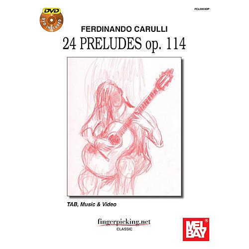 Mel Bay Ferdinando Carulli: 24 Pruludes op. 114 thumbnail