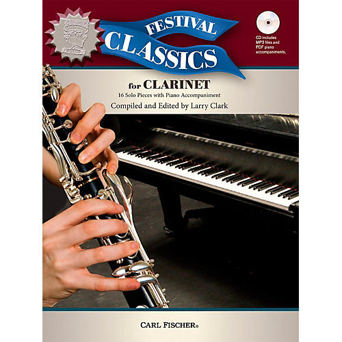 Carl Fischer Festival Classics for Clarinet Book thumbnail