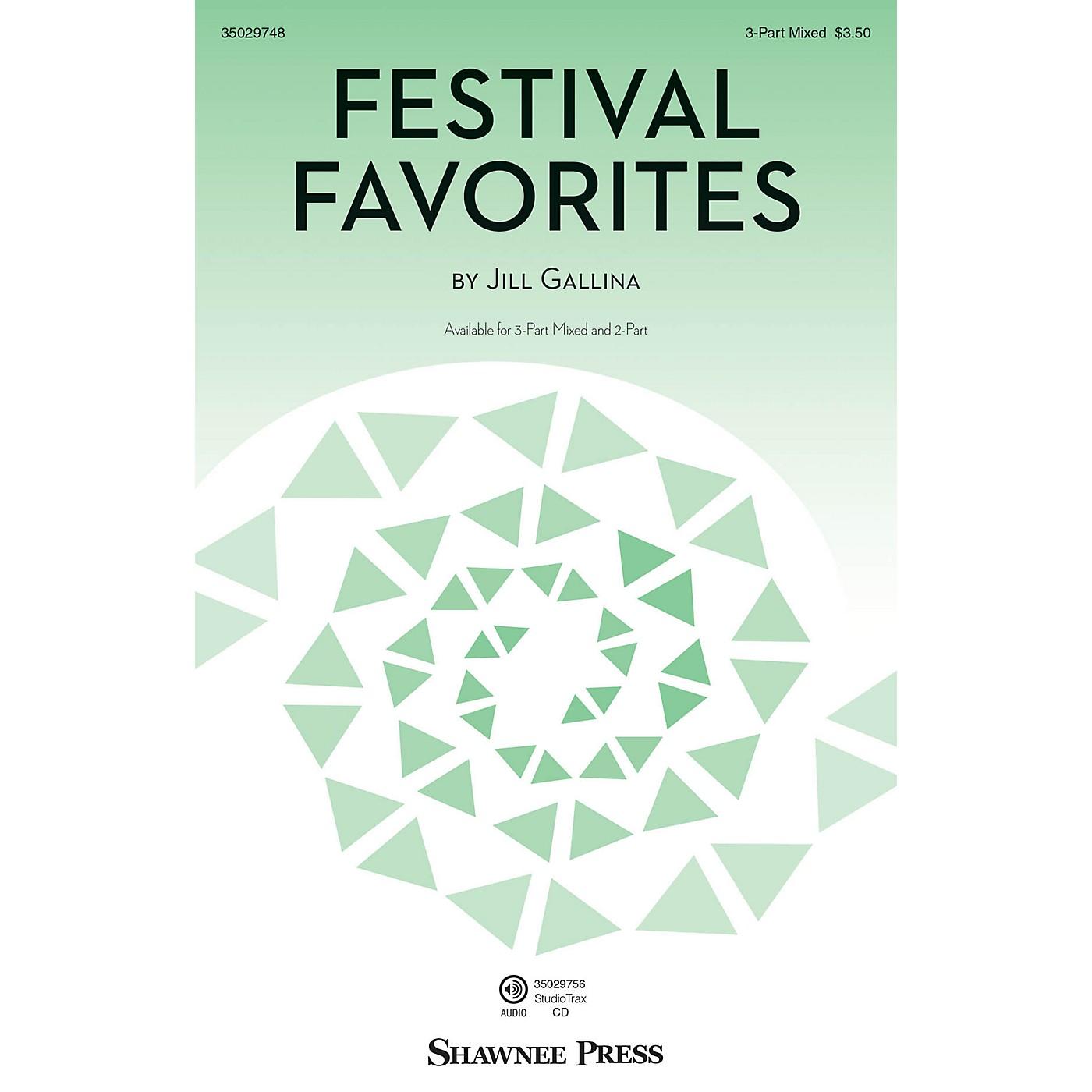 Hal Leonard Festival Favorites 3-Part Mixed thumbnail
