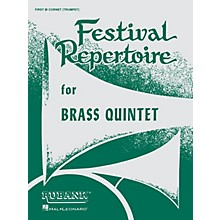 Rubank Publications Festival Repertoire for Brass Quintet (1st B-flat Cornet/Trumpet) Ensemble Collection Series