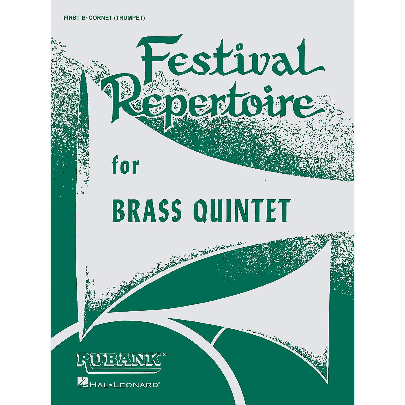 Rubank Publications Festival Repertoire for Brass Quintet (2nd Trombone/Baritone B.C. (4th Part)) Ensemble Collection Series thumbnail
