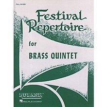 Rubank Publications Festival Repertoire for Brass Quintet (Full Score) Ensemble Collection Series by Various