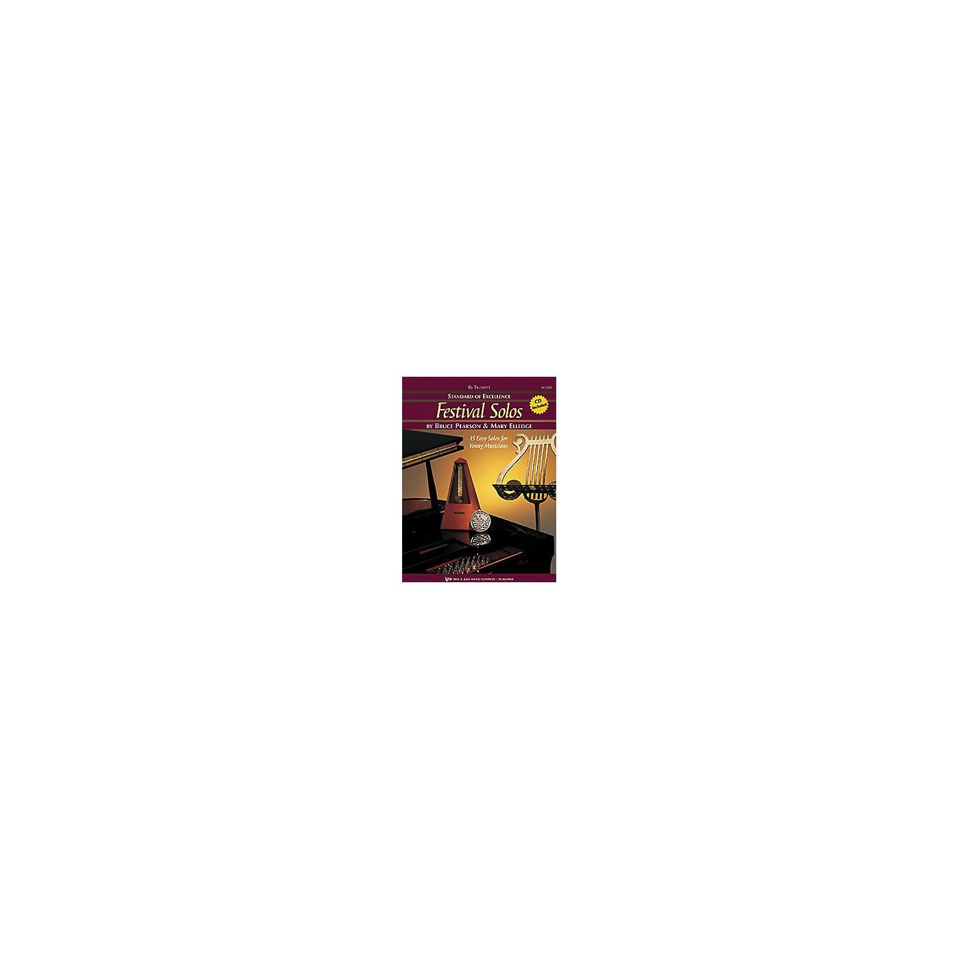 KJOS Festival Solos, Book 1 - Trumpet thumbnail