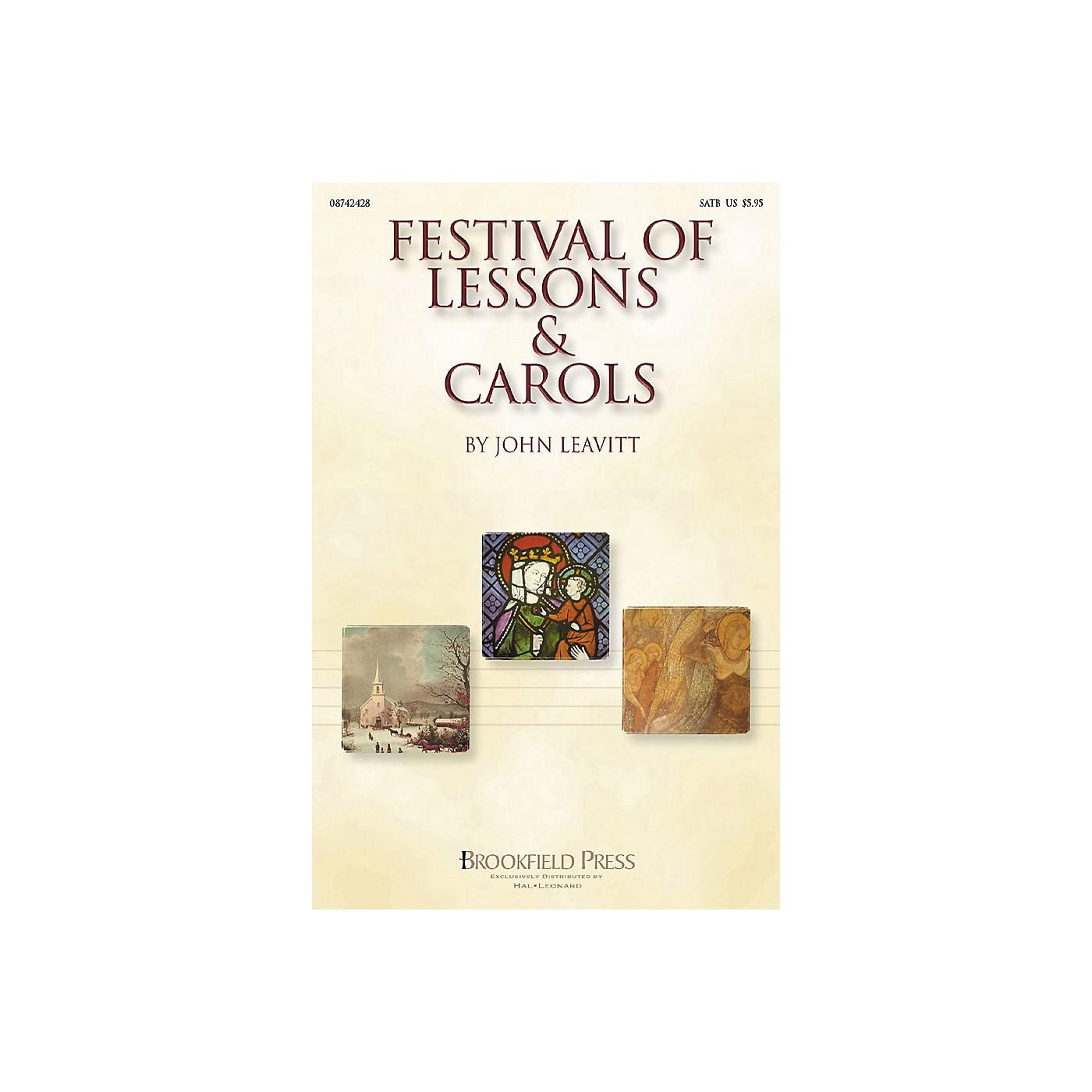 Brookfield Festival of Lessons & Carols PREV CD Arranged by John Leavitt thumbnail