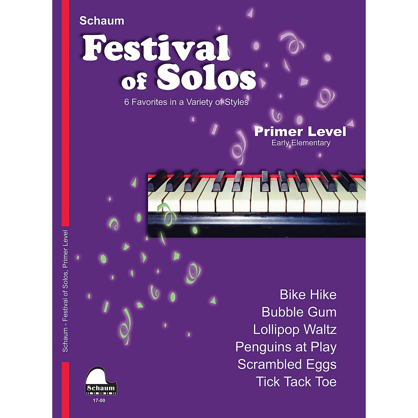 SCHAUM Festival of Solos Educational Piano Book by John W. Schaum (Level Early Elem) thumbnail
