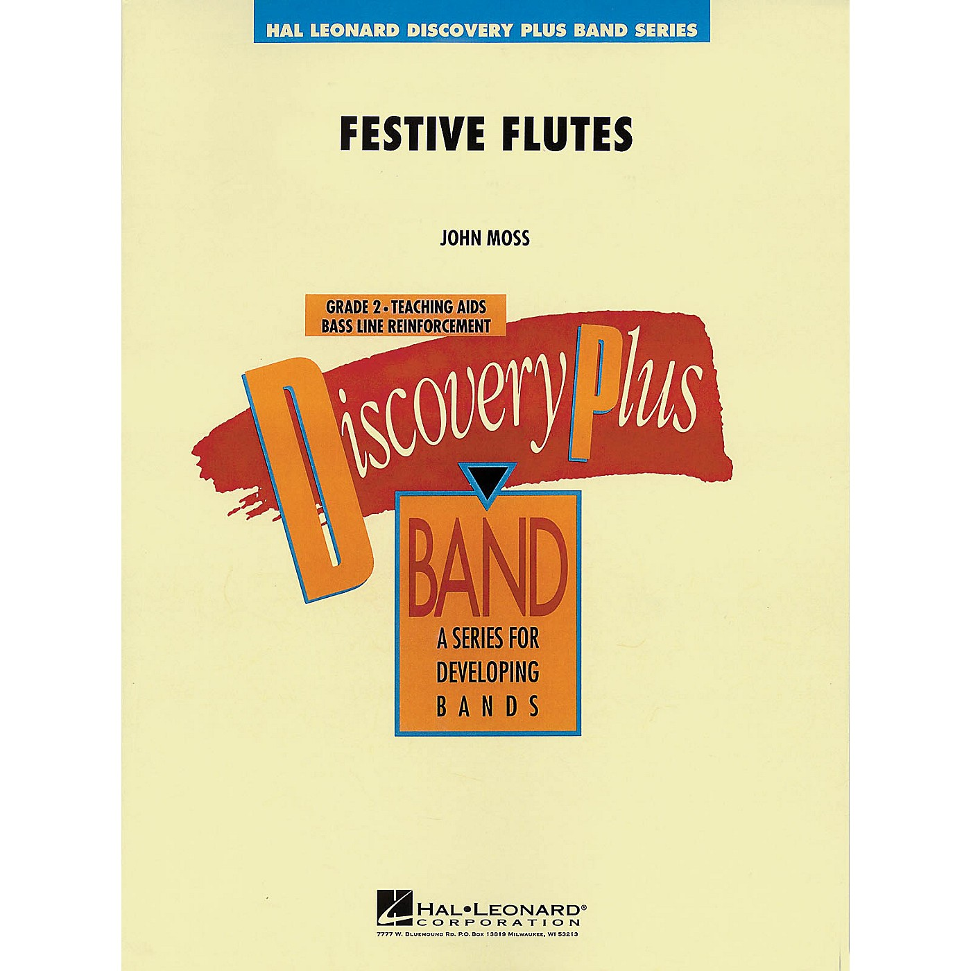 Hal Leonard Festive Flutes - Discovery Plus Concert Band Series Level 2 composed by John Moss thumbnail