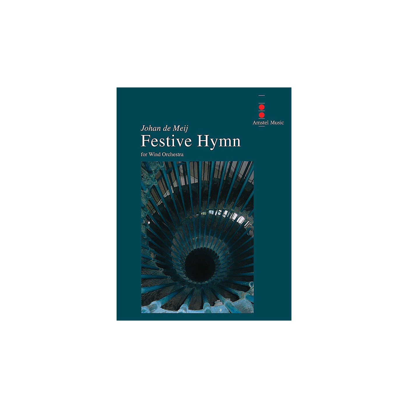 Amstel Music Festive Hymn Concert Band Level 3 Composed by Johan de Meij thumbnail