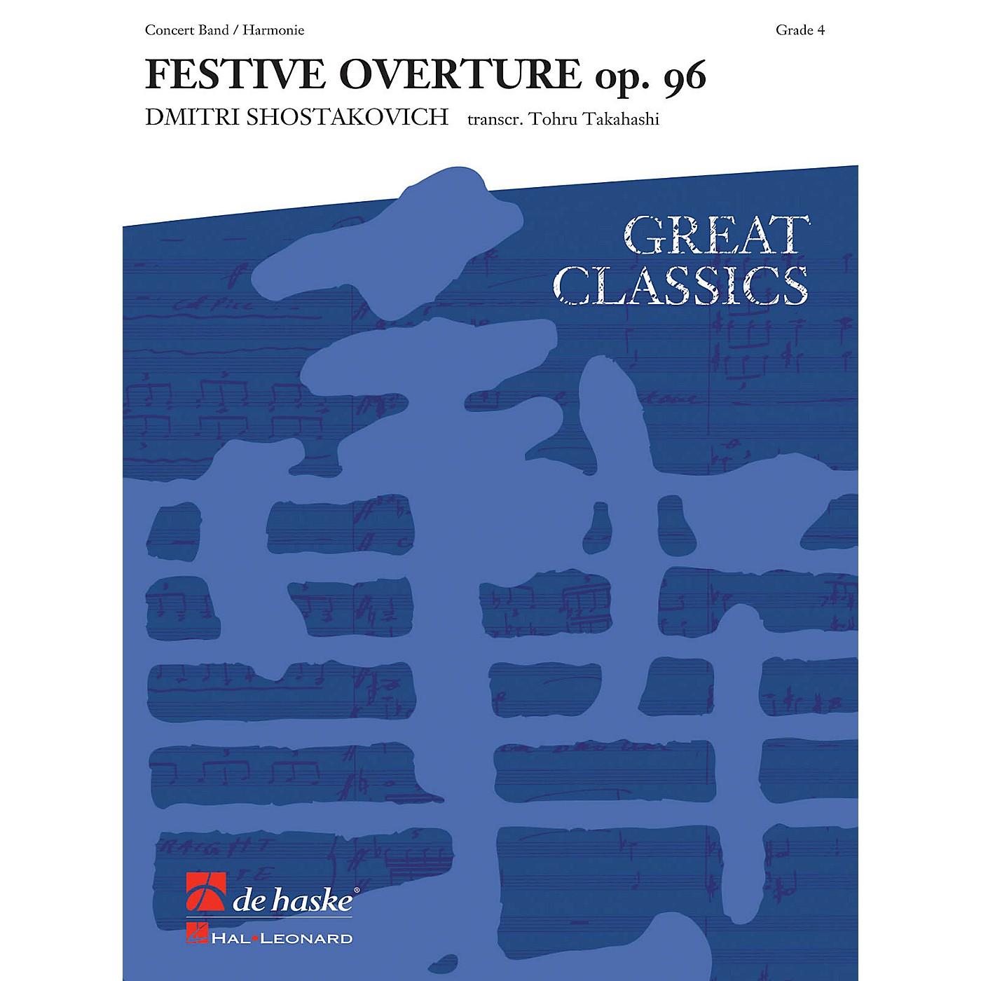 Hal Leonard Festive Overture Score Only Concert Band thumbnail
