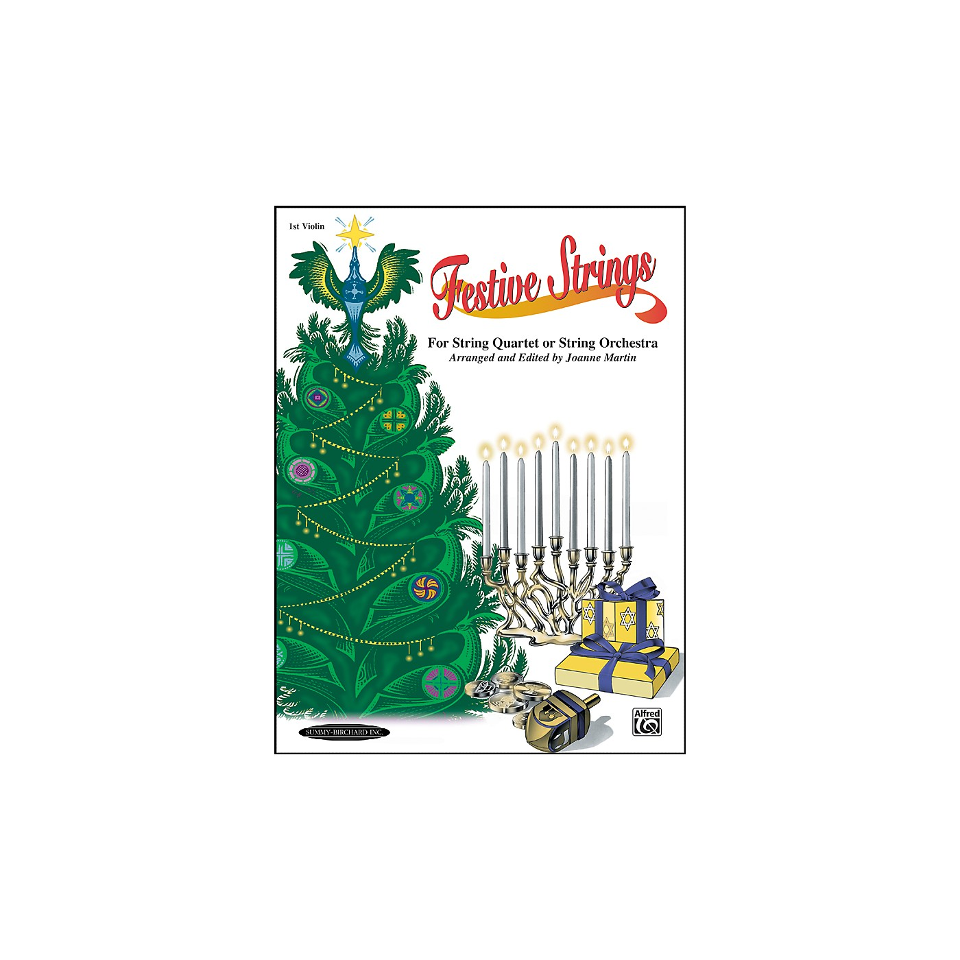 Alfred Festive Strings 1st Violin (Book) thumbnail