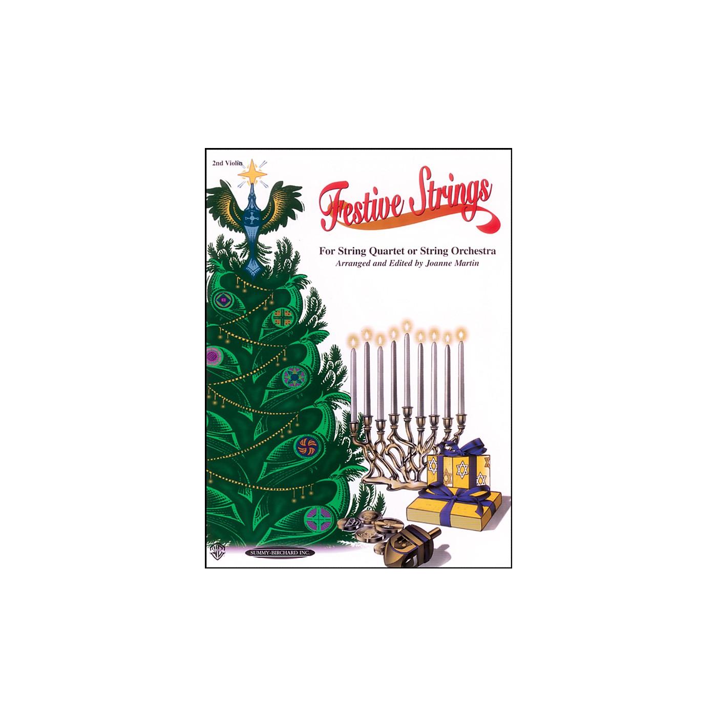 Alfred Festive Strings 2nd Violin (Book) thumbnail