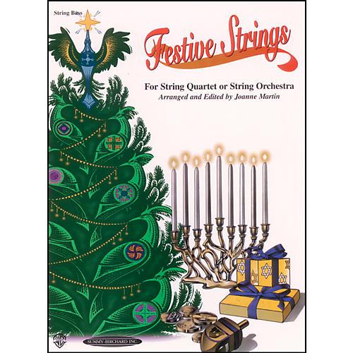 Alfred Festive Strings Bass (Book) thumbnail