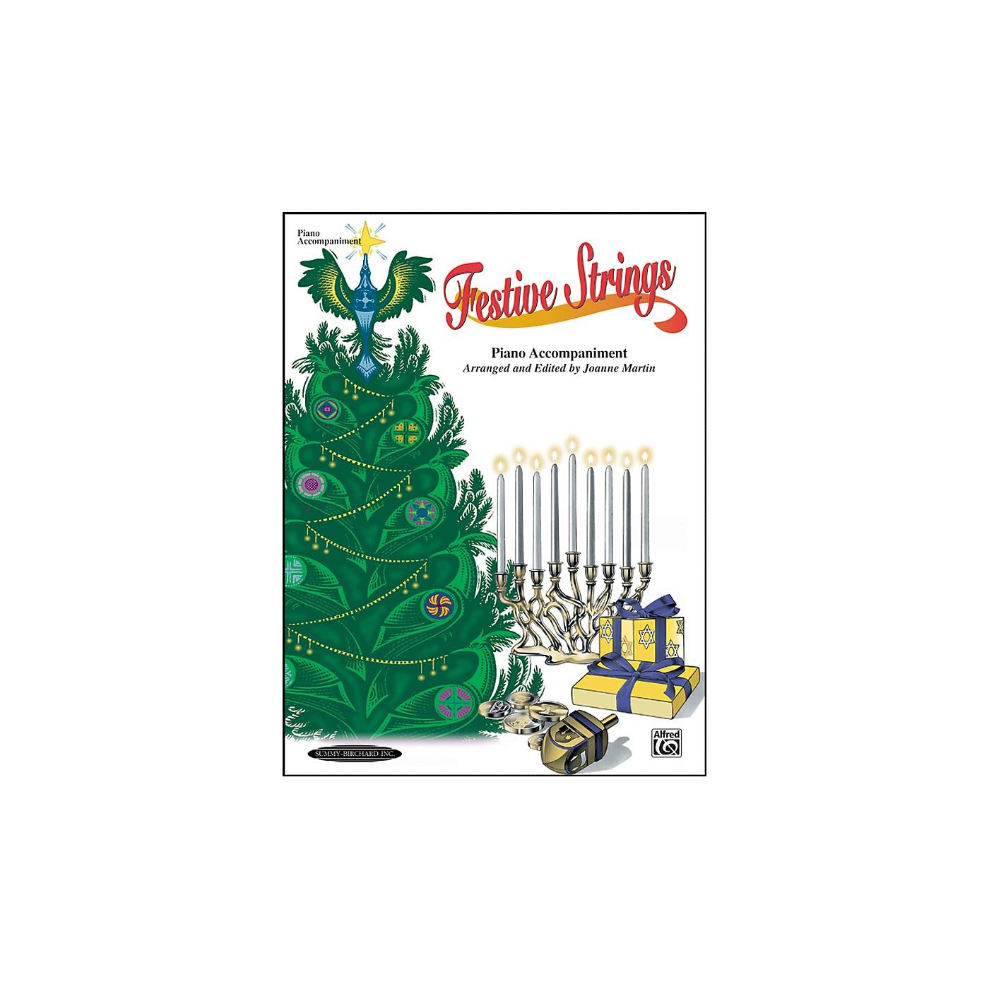 Alfred Festive Strings Piano Accompaniment (Book) thumbnail