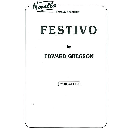 Studio Music London Festivo Concert Band Composed by Edward Gregson thumbnail