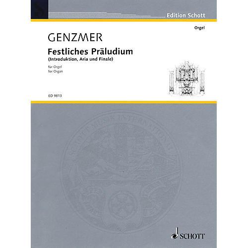 Schott Festliches Präludium (Introduktion, Aria und Finale (1992)) Schott Series thumbnail