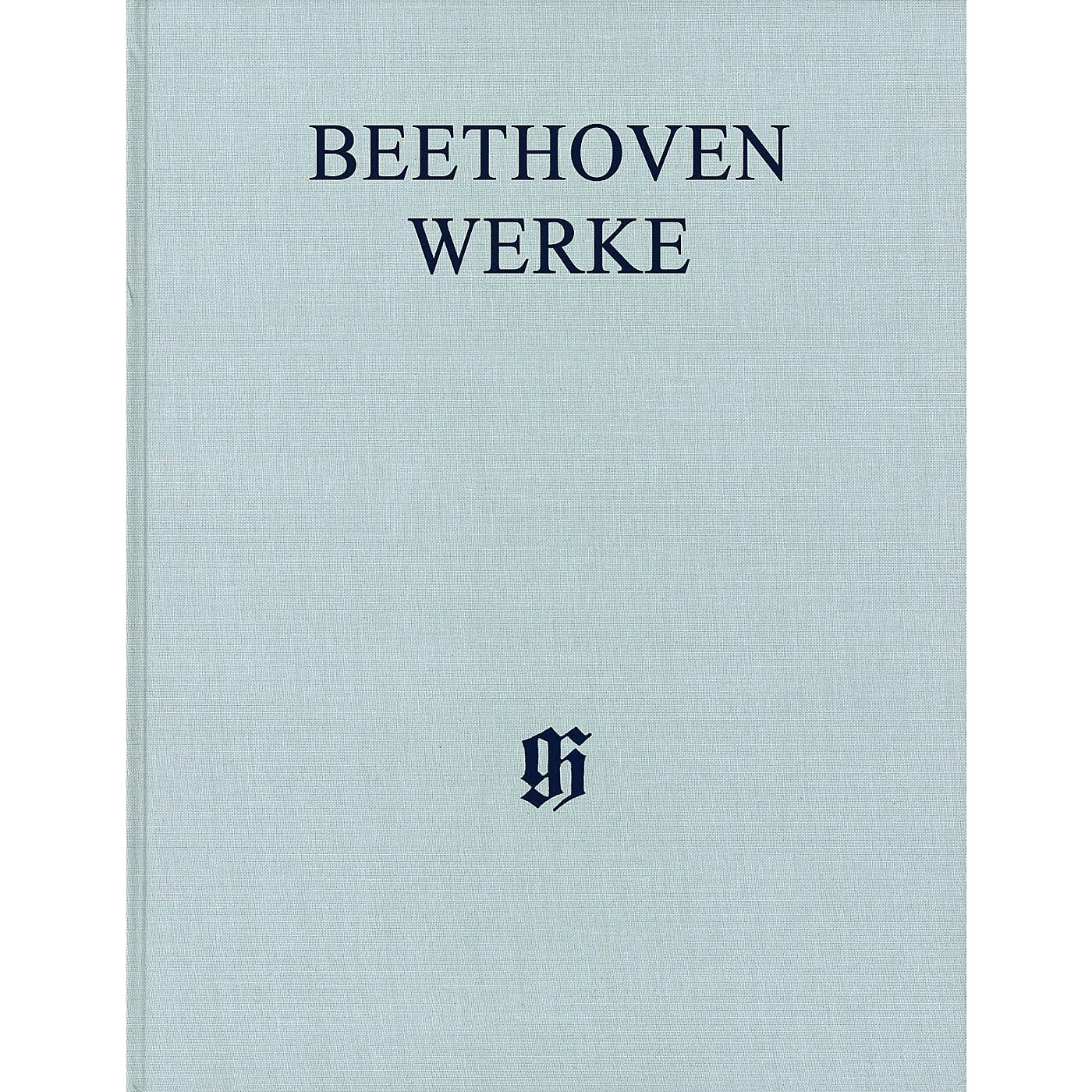 G. Henle Verlag Festspiele von 1812 Und 1822 Henle Edition Hardcover by Beethoven Edited by Helmut Hell thumbnail