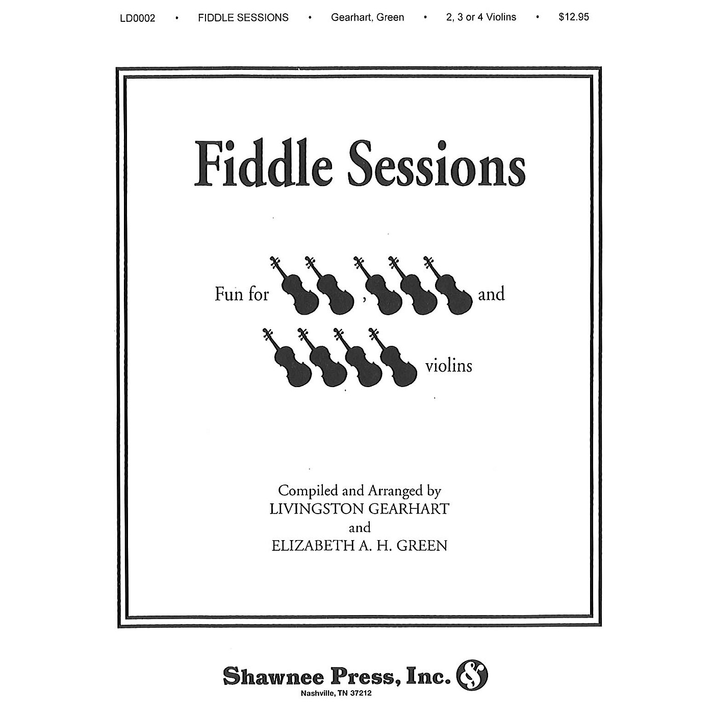 Hal Leonard Fiddle Sessions 2-4 Violins Violin thumbnail