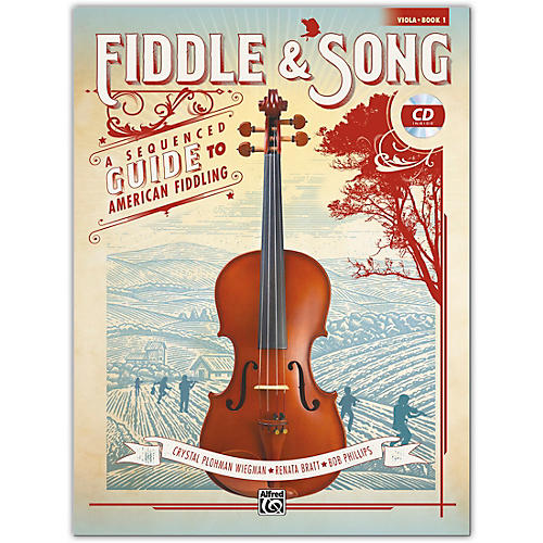 Alfred Fiddle & Song, Book 1 Viola Book & CD Intermediate thumbnail