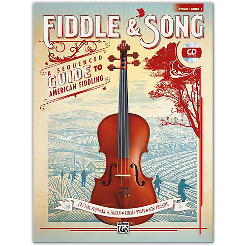 Alfred Fiddle & Song, Book 1 Violin Book & CD Intermediate thumbnail