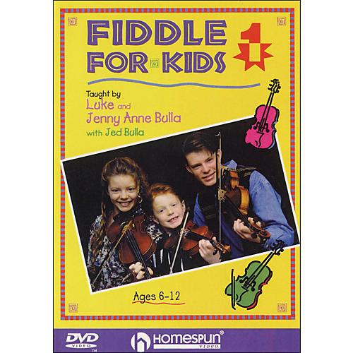 Homespun Fiddle for Kids, Lesson One (DVD)-thumbnail