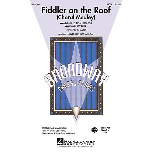 Hal Leonard Fiddler on the Roof (Choral Medley) SAB Arranged by Ed Lojeski thumbnail