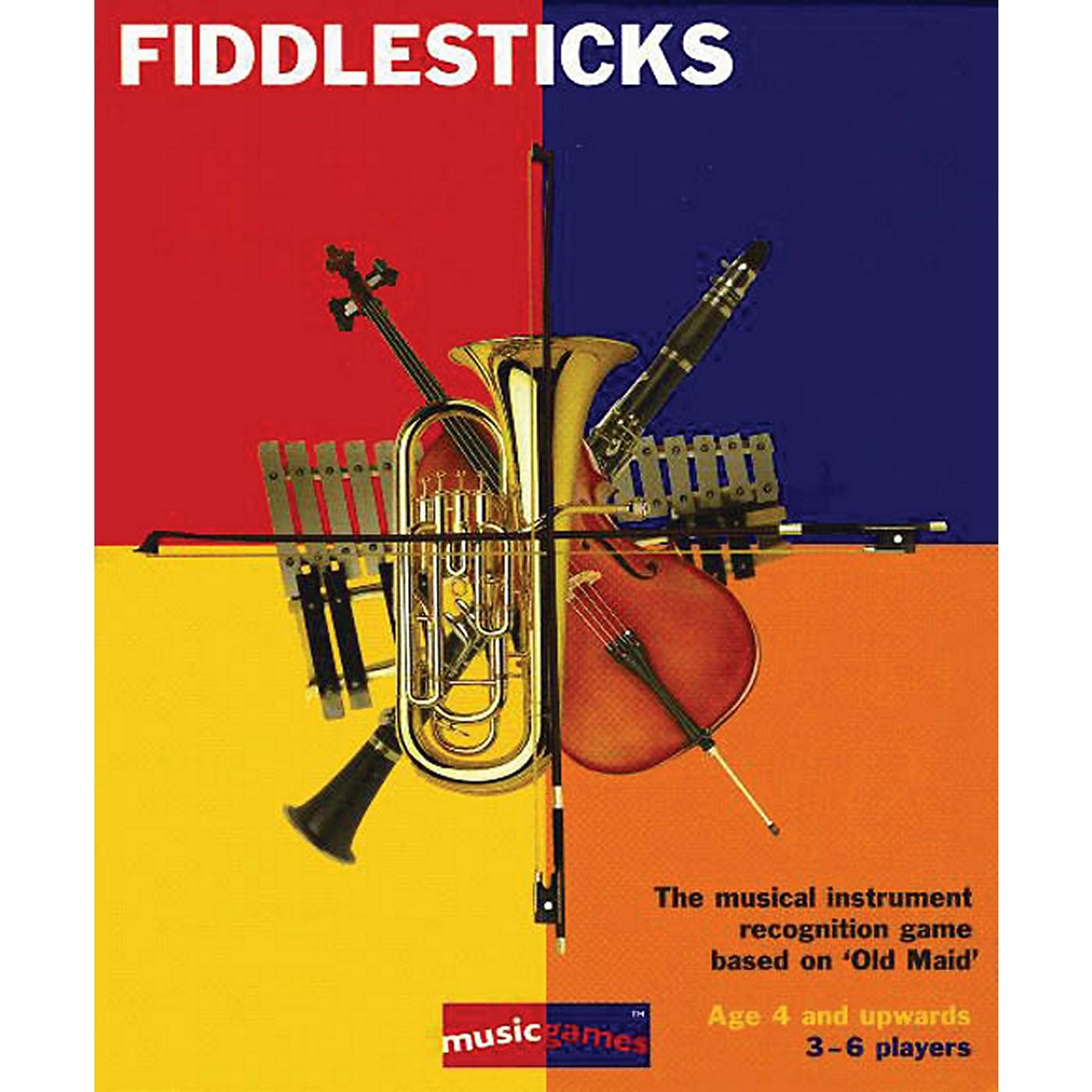 Music Sales Fiddlesticks - Instruments Card Game thumbnail