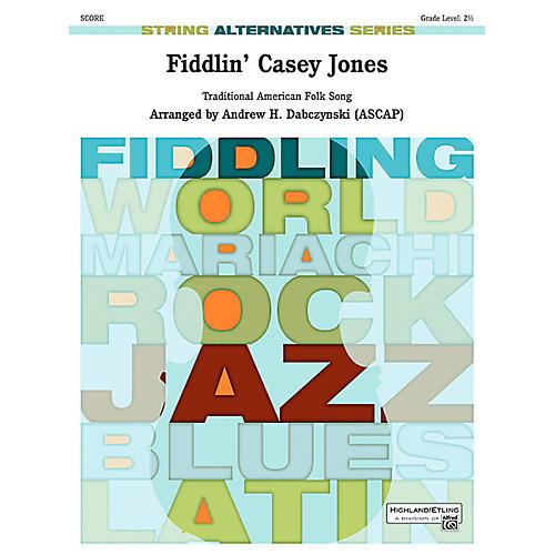 Alfred Fiddlin' Casey Jones String Orchestra Grade 2.5 thumbnail