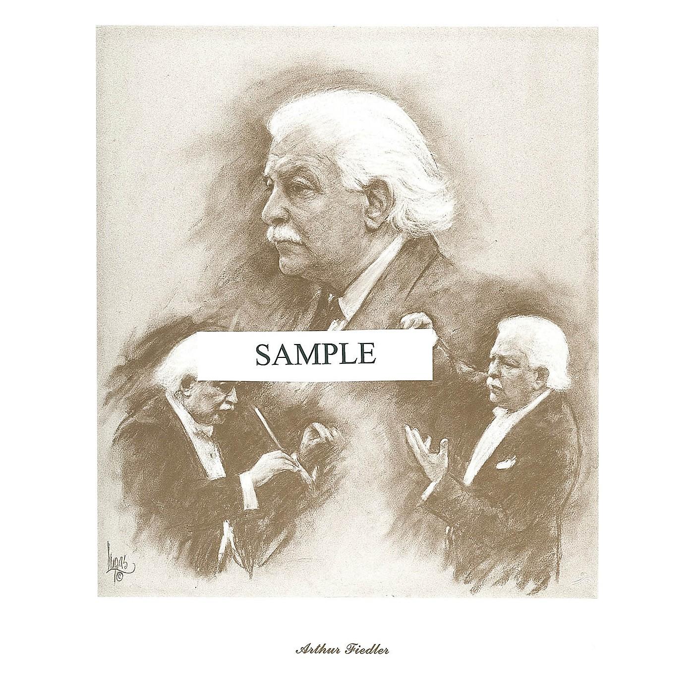 Music Sales Fiedler (Lupas Large Portrait Poster) Music Sales America Series thumbnail