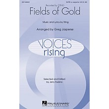 Hal Leonard Fields of Gold SATB DV A Cappella by Sting arranged by Greg Jasperse