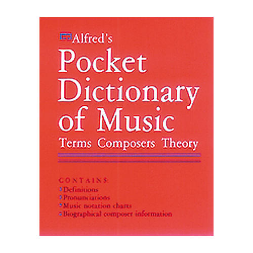 Alfred Fieldstein Pocket Music Dictionary thumbnail
