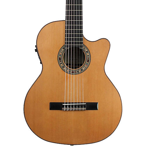 Kremona Fiesta F65CW Left-handed Classical Acoustic-Electric Guitar thumbnail