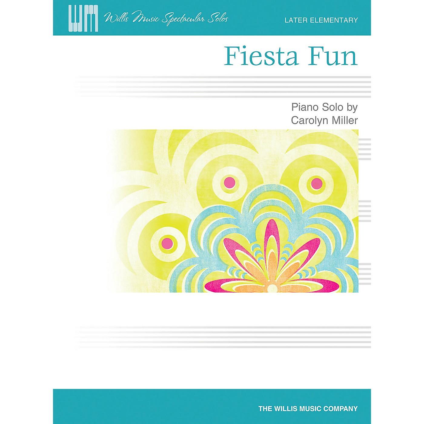 Willis Music Fiesta Fun (Later Elem Level) Willis Series by Carolyn Miller thumbnail