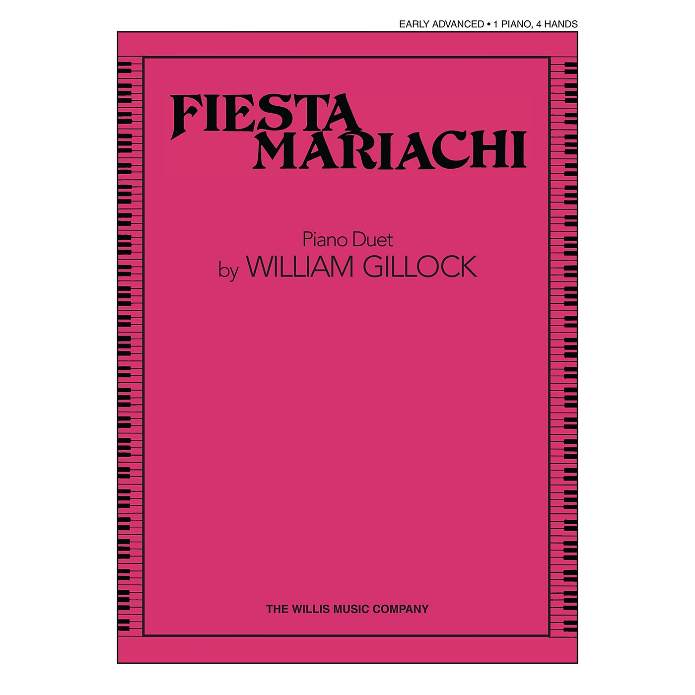 Willis Music Fiesta Mariachi (1 Piano, 4 Hands/Early Advanced Level) Willis Series Book by William Gillock thumbnail