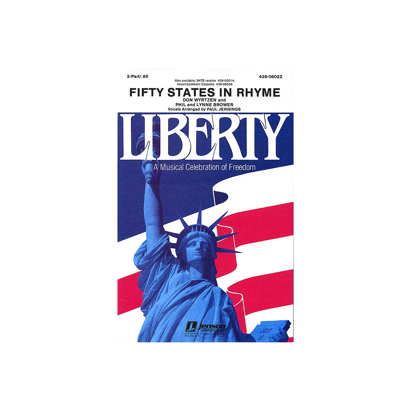 Hal Leonard Fifty States in Rhyme 2-Part thumbnail