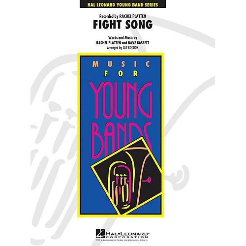 Hal Leonard Fight Song - Young Concert Band Series Level 3 arranged by Jay Bocook thumbnail
