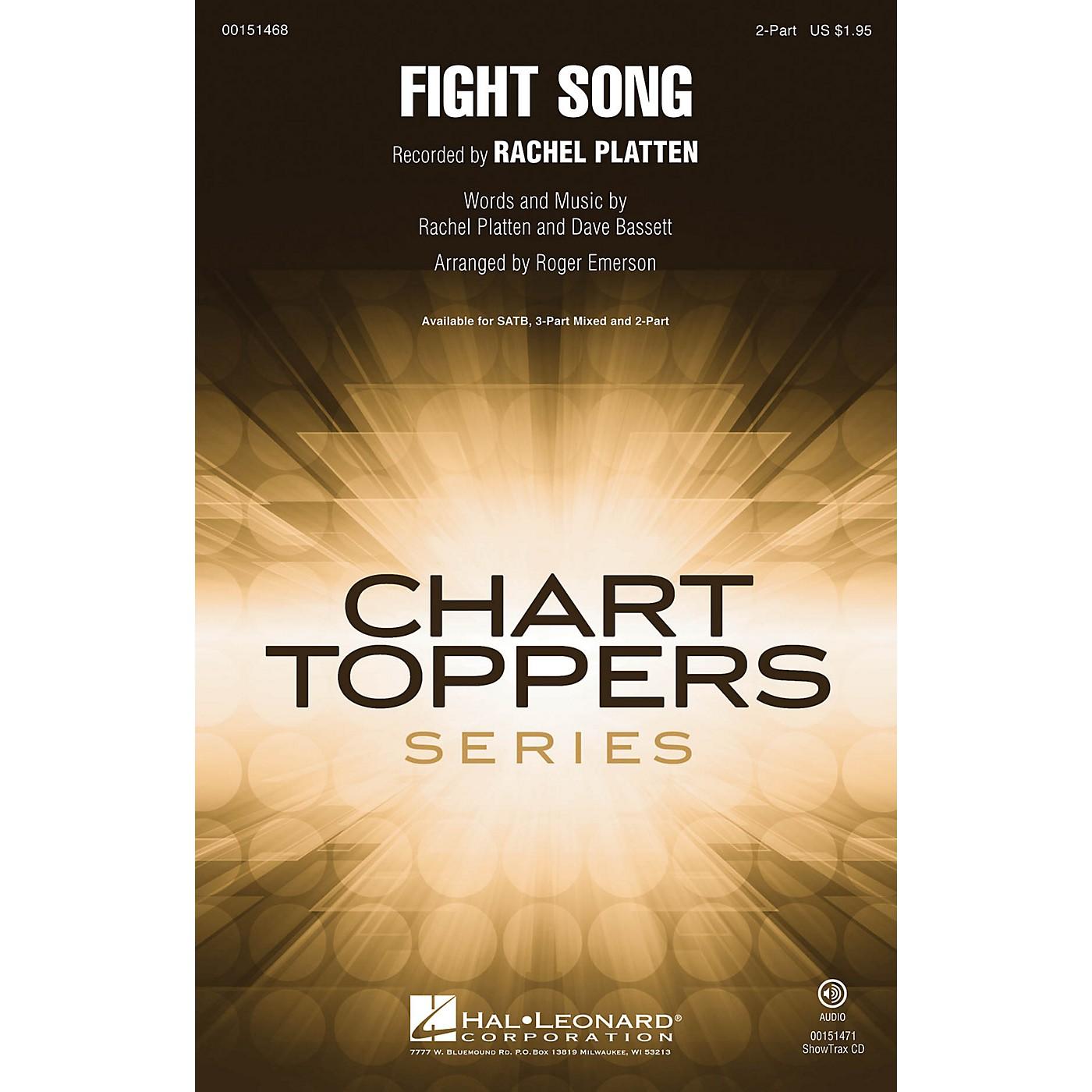Hal Leonard Fight Song 2-Part by Rachel Platten arranged by Roger Emerson thumbnail