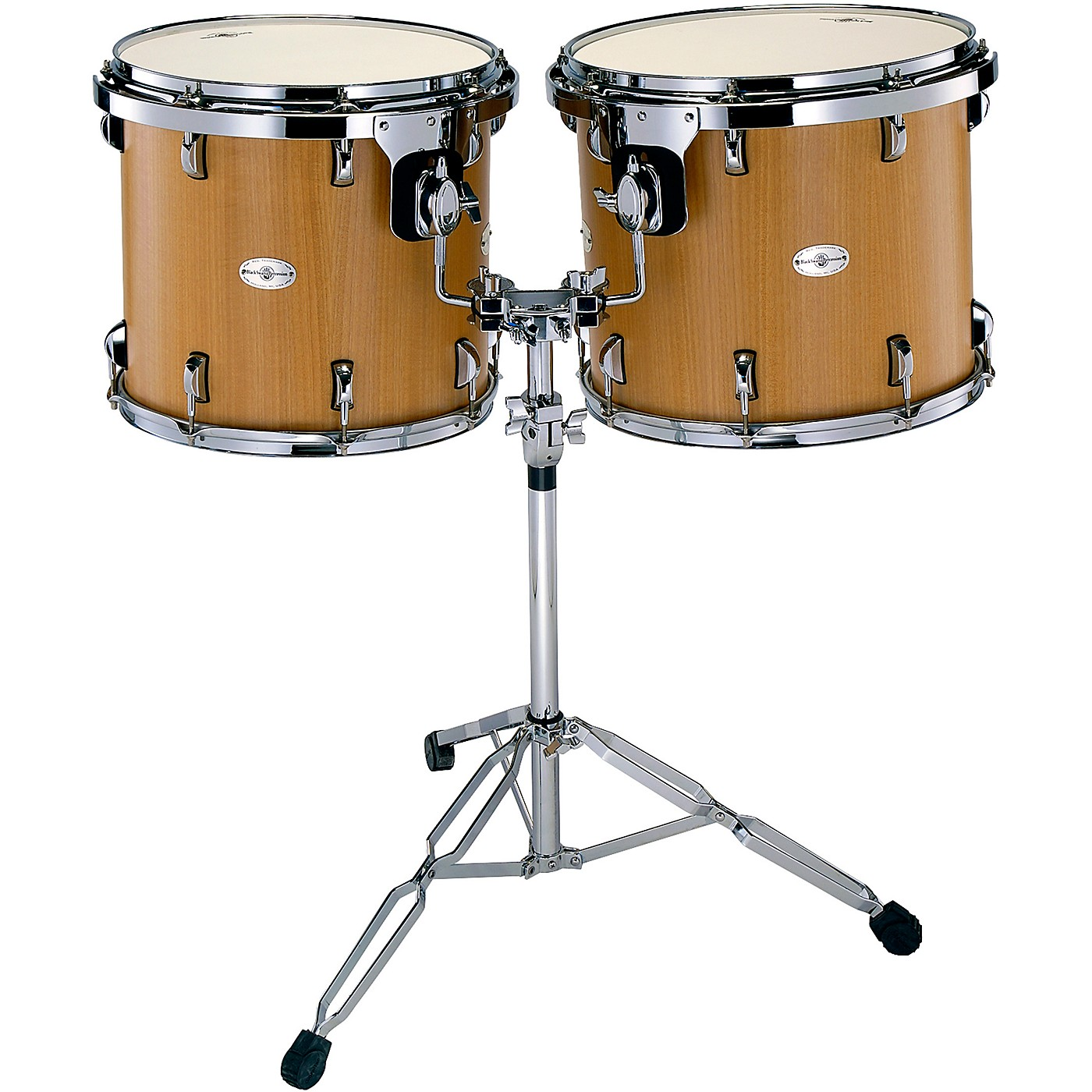 Black Swamp Percussion Figured Anigre Concert Tom Set with Stand thumbnail