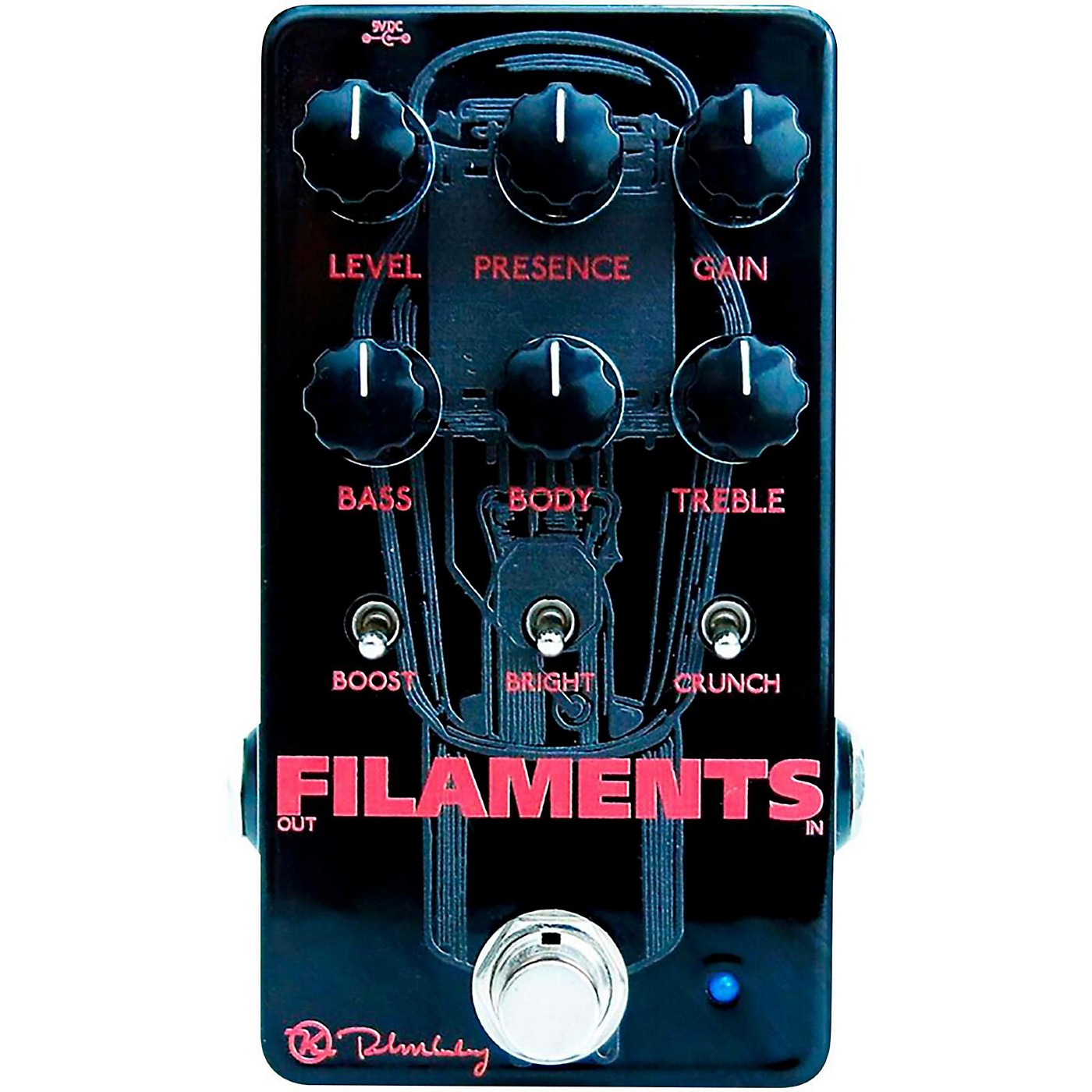 Keeley Filaments High Gain Distortion Effects Pedal thumbnail