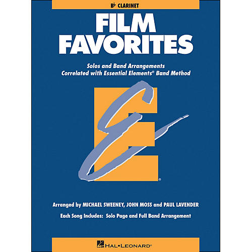Hal Leonard Film Favorites B-Flat Clarinet thumbnail