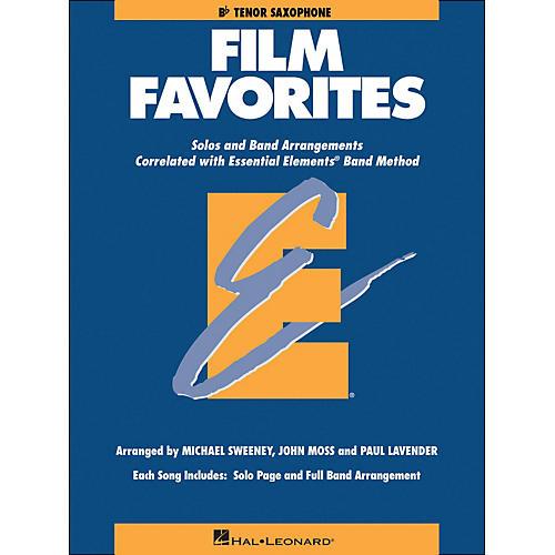 Hal Leonard Film Favorites B-Flat Tenor Saxophone thumbnail