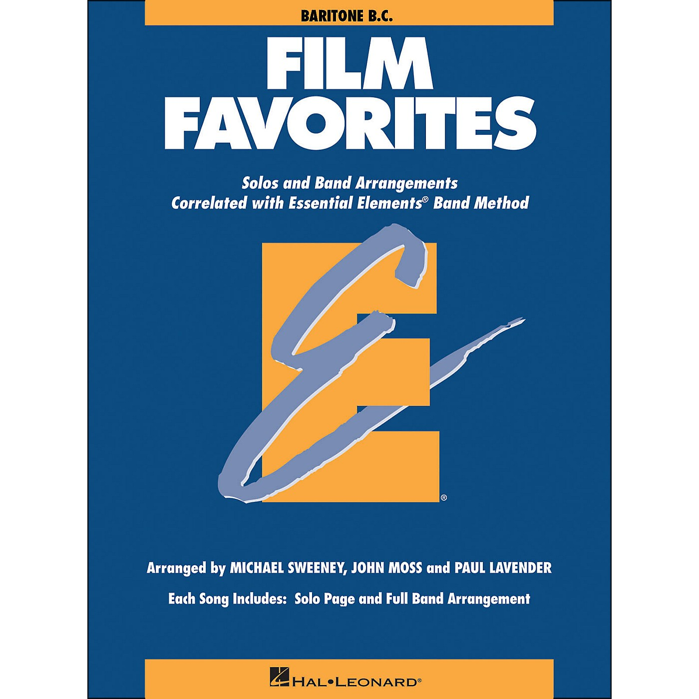 Hal Leonard Film Favorites Baritone B.C. thumbnail