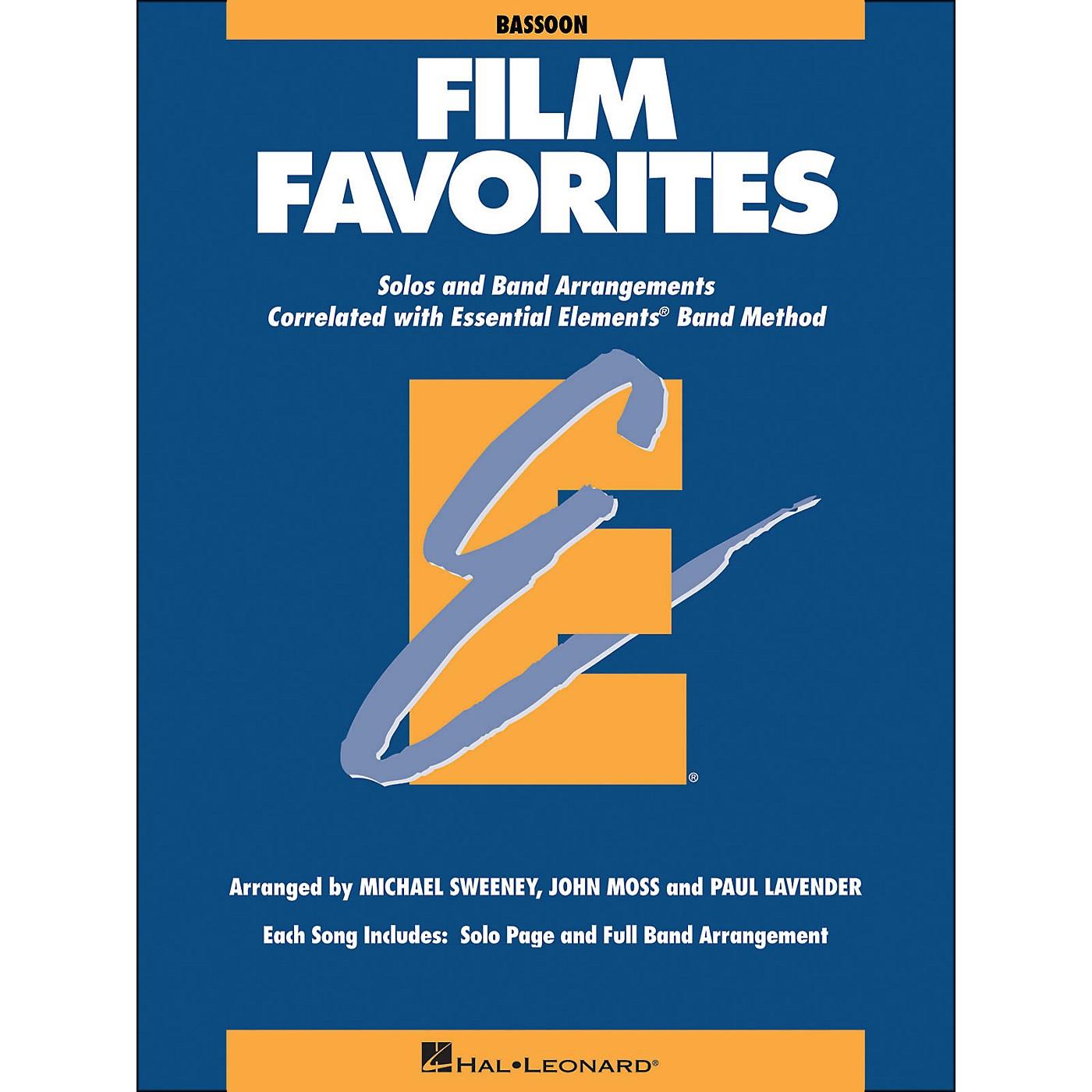 Hal Leonard Film Favorites Bassoon thumbnail