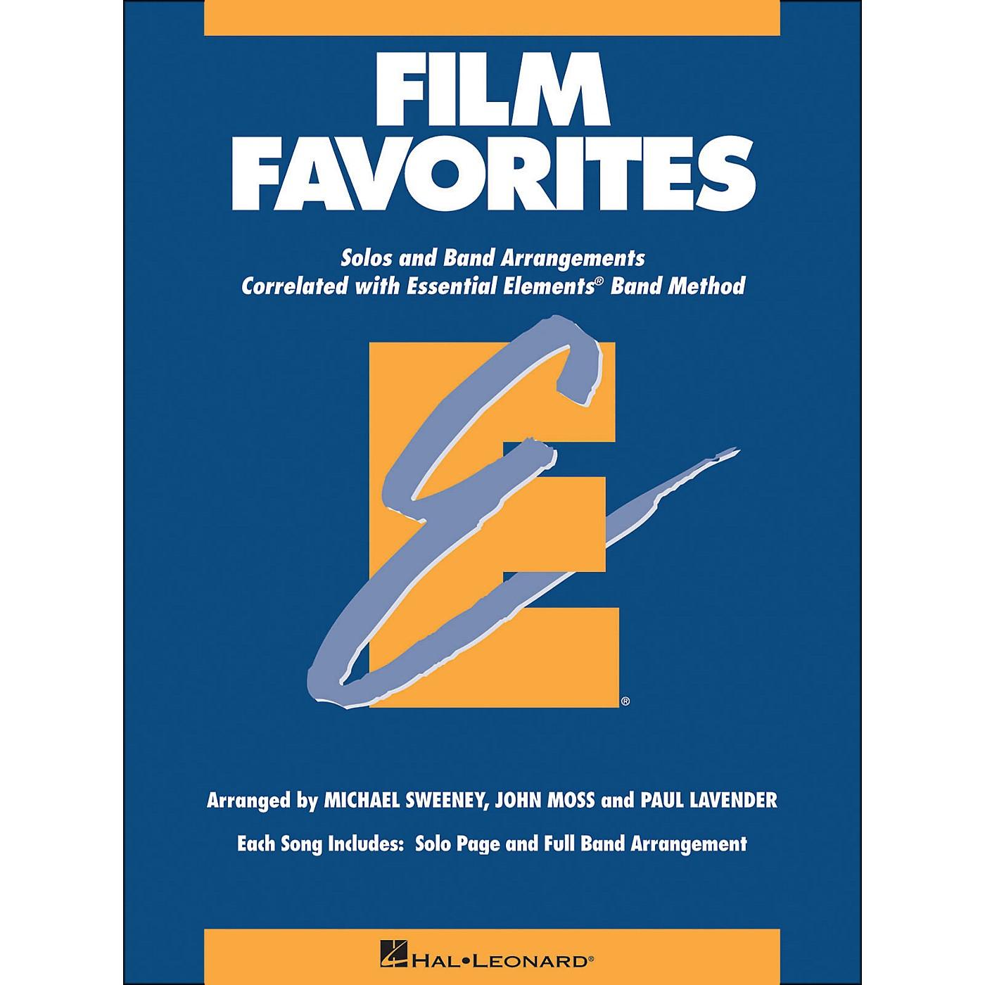 Hal Leonard Film Favorites E-Flat Alto Saxophone thumbnail
